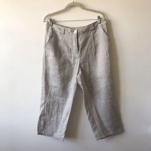 NWOT Ana Nonza capri pants Size XL